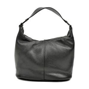 Černá kožená kabelka Carla Ferreri Mismo Lento