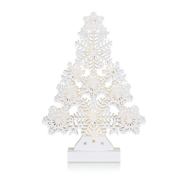 Decorațiune luminoasă cu LED Markslöjd Prince, înălțime 39 cm, alb