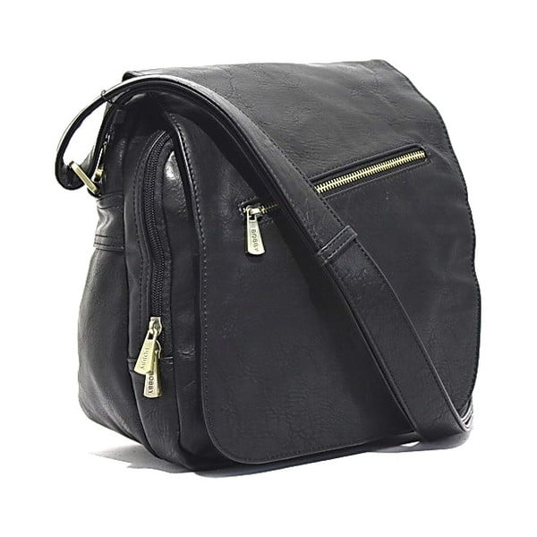 Taška přes rameno Bobby Black - Black, 24x29 cm