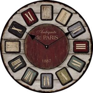 Hodiny 1887 Paris, 34 cm