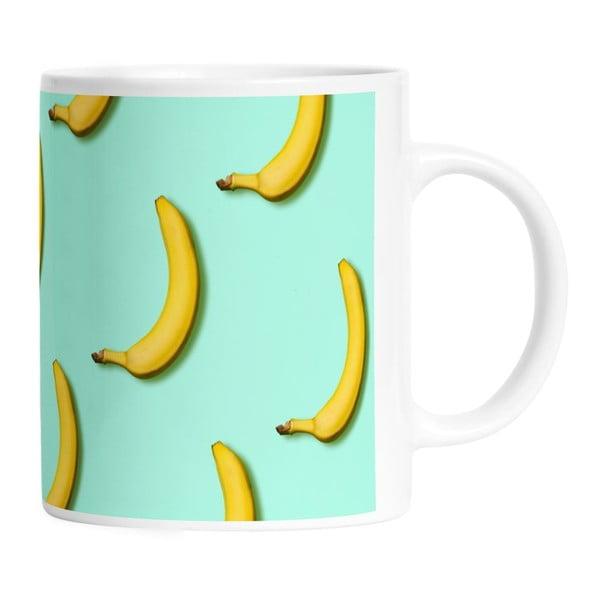 Keramický hrnek Bananas In Mint, 330 ml