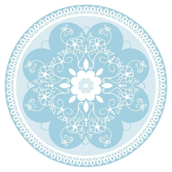 Sada 2 prostírání Blue Ornament
