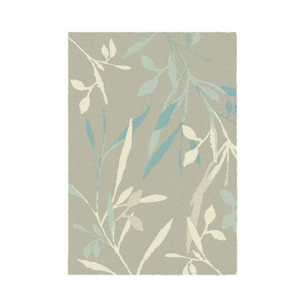 Koberec Accent 120x170 cm, světlé listí