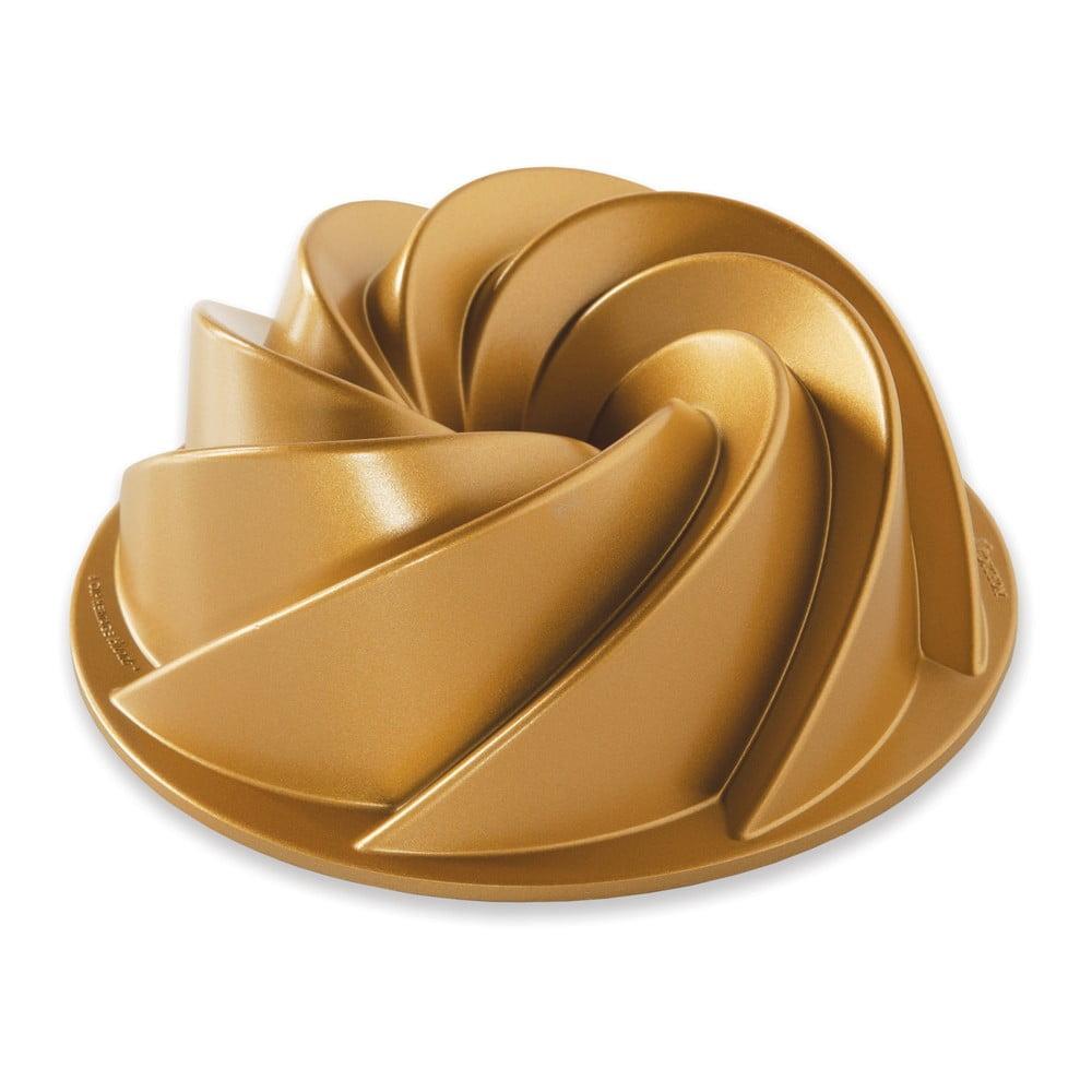 Forma na bábovku ve zlaté barvě Nordic Ware Heritage, 1,4 l