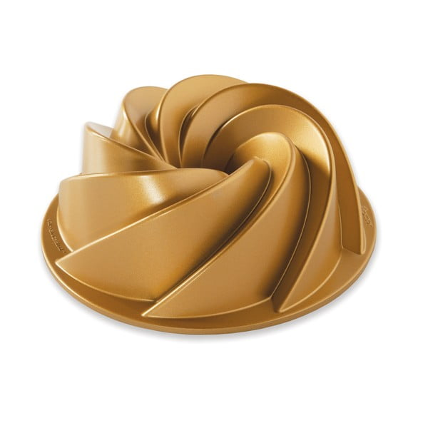 Formă pentru guguluf Nordic Ware Heritage, 1,4 l, auriu