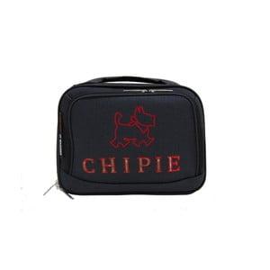 Černý příruční kufr LULU CASTAGNETTE Chipie, 11l
