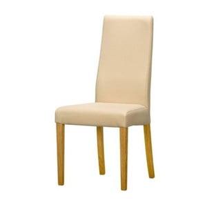 Krémová jídelní židle Szynaka Meble Salvo