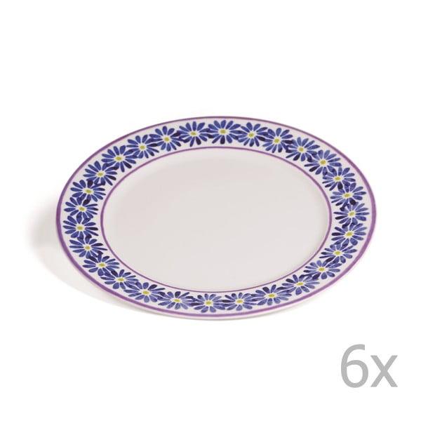 Sada 6 talířů Toscana Monteriggioni, 27 cm