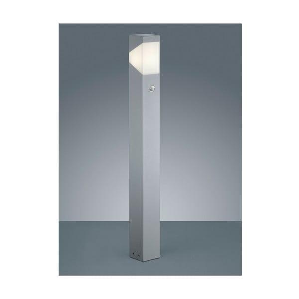 Venkovní stojací světlo s pohybovým čidlem Rio Titanium, 100 cm