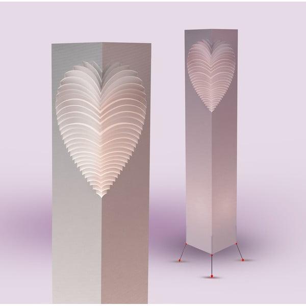 Heart lámpa, magasság 110 cm - MooDoo Design