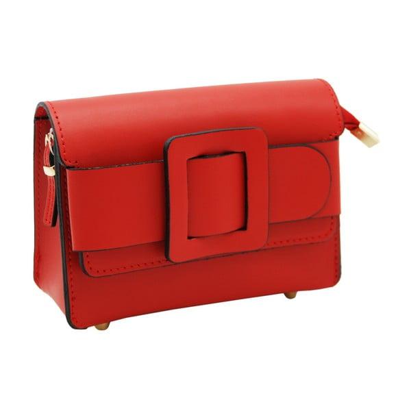 Červené psaníčko / kabelka z pravé kůže Andrea Cardone Lessino