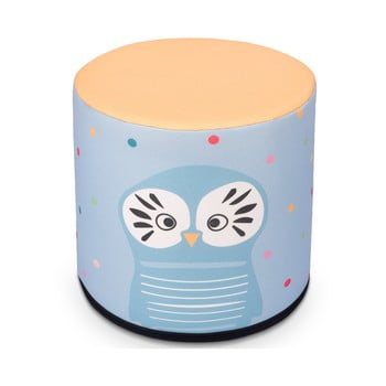 Puf pentru copii KICOTI Owl, 40 x 40 cm, multicolor de la KICOTI