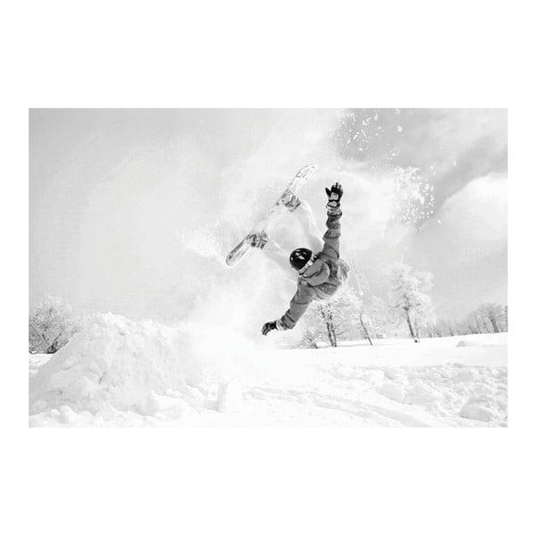 Fotoobraz Snowboardista, 90x60 cm