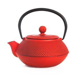 Ceainic din fontă Bambum Taşev Linden, 800 ml, roșu