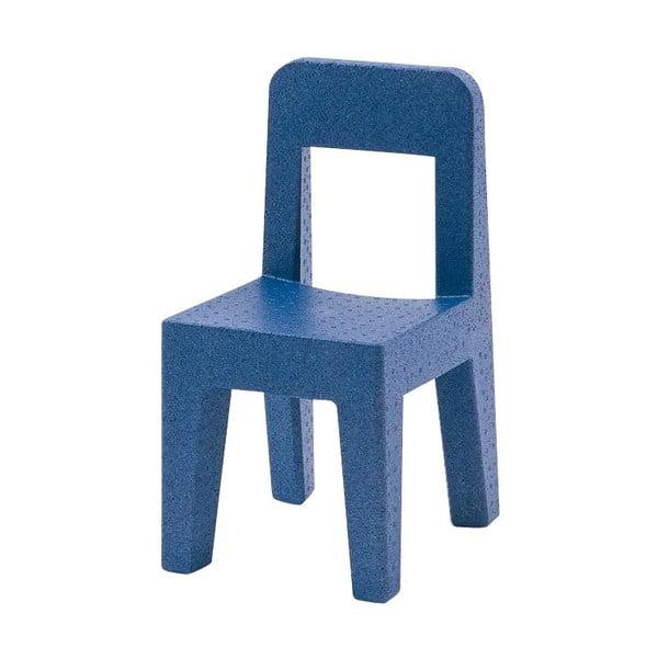 Modrá dětská židle Magis Seggiolina Pop