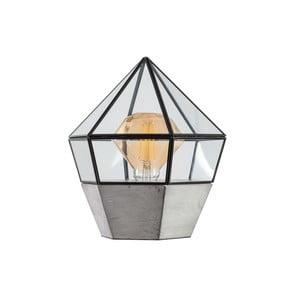 Dřevěná stolní lampa ETH Fame