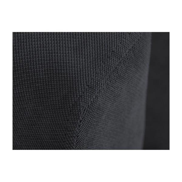 Tmavě šedá trojmístná rozkládací pohovka s úložným prostorem Cosmopolitan design Sydney