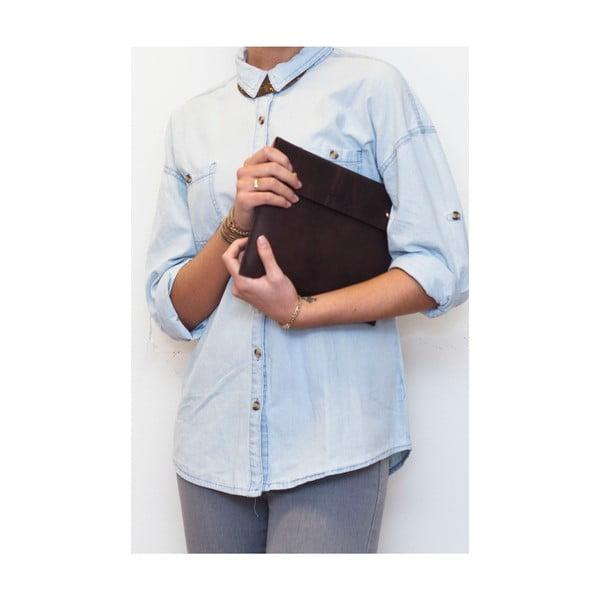 Kožené pouzdro na iPad Sleeve, tmavě hnědé