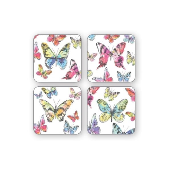 Sada 4 podtácků Cooksmart Butterfly
