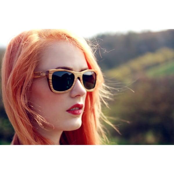 Dřevěné sluneční brýle Timewood Okul