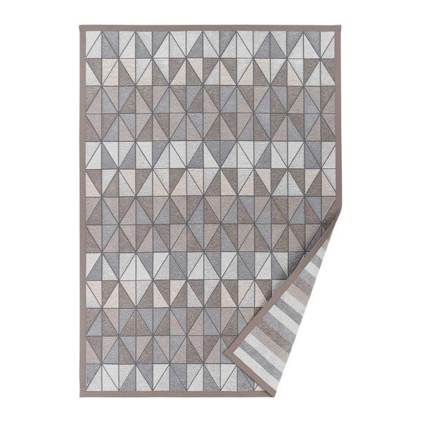 Treski szürkésbézs, mintás kétoldalas szőnyeg, 160 x 230 cm - Narma
