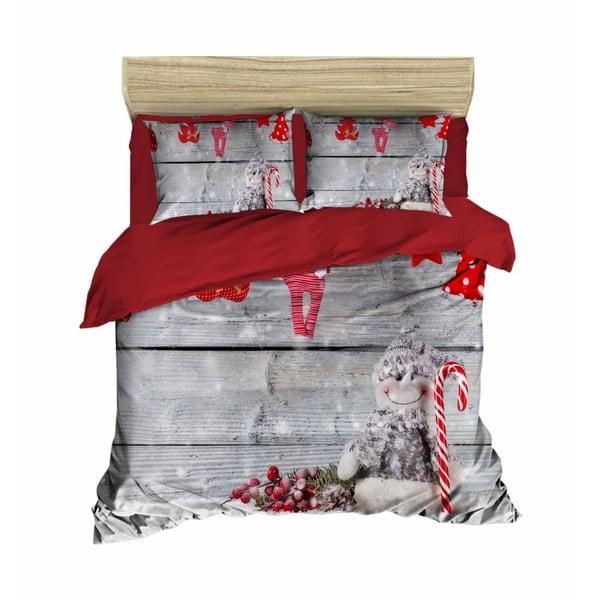 Antonio karácsonyi, kétszemélyes ágyneműhuzat lepedővel, 160 x 220 cm