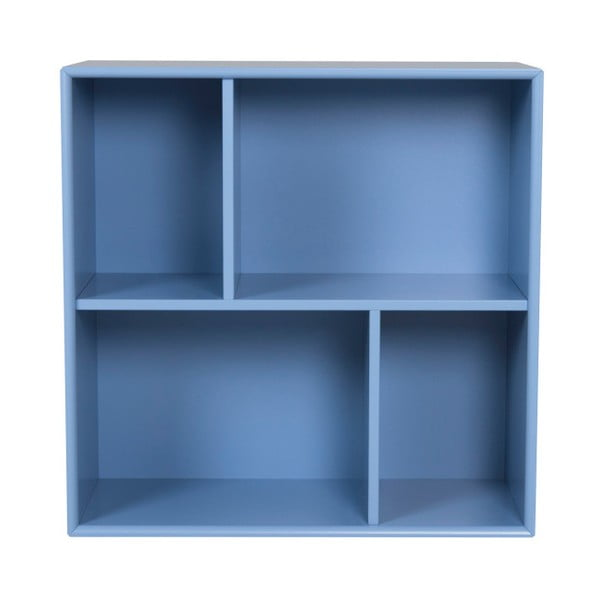 Modrá police Tenzo Z Cube, 70x70cm