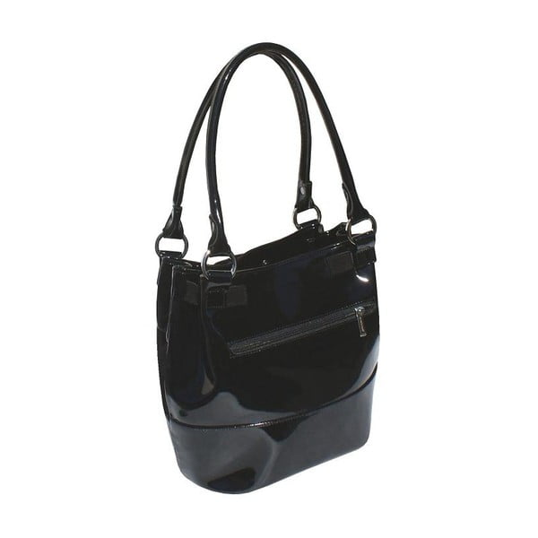 Kožená kabelka Boscollo Black 2436