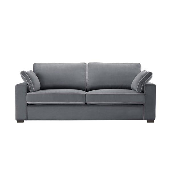 Třímístná pohovka Jalouse Maison Serena, šedá
