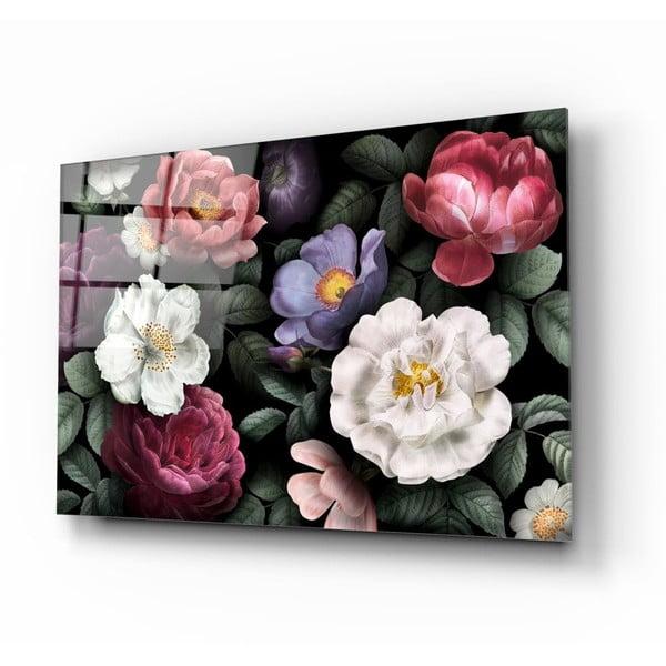Skleněný obraz Insigne Flowers