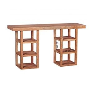 Konzolový stolek z masivního akáciového dřeva Skyport Jacinta