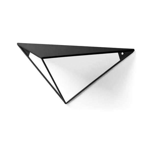 Čierna polica La Forma, výška 40 cm
