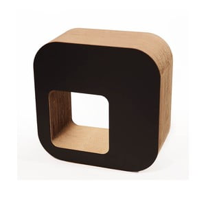 Kartonový sedák, černý