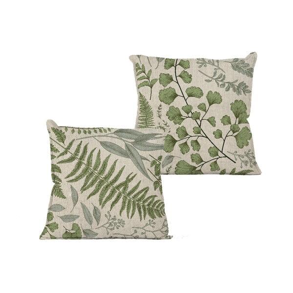 Poszewka na poduszkę Linen Couture Botanical, 45x45 cm