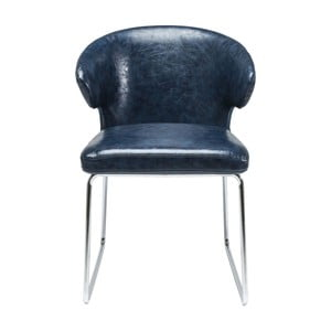 Modrá židle Kare Design Atomic