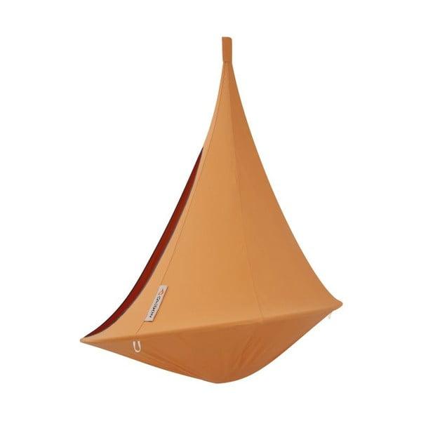 Oranžové závěsné křeslo pro jednoho Cacoon Single