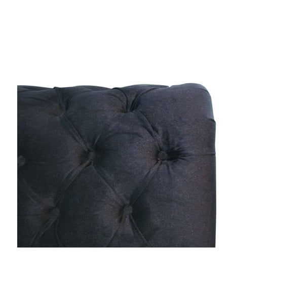Postel Ontario Black, 160x200 cm