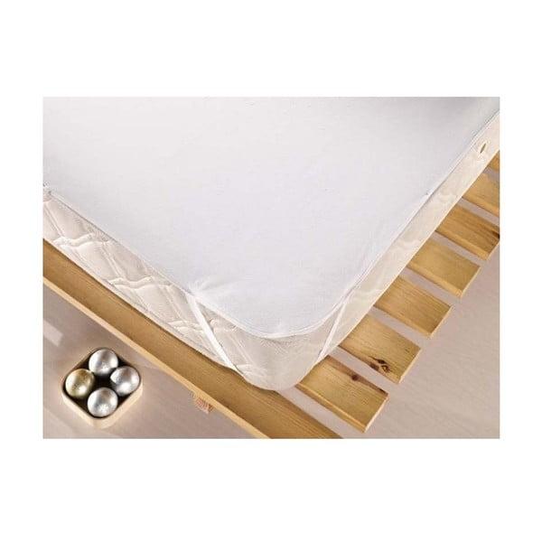 Ochranná bavlněná podložka matrace na dvoulůžko Protector,160x200cm