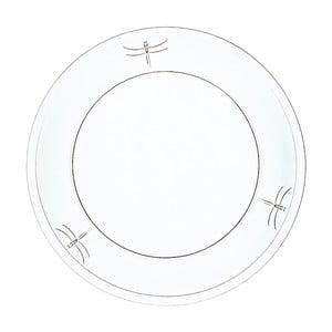 Skleněný talíř La Rochère Libellules, ⌀25cm