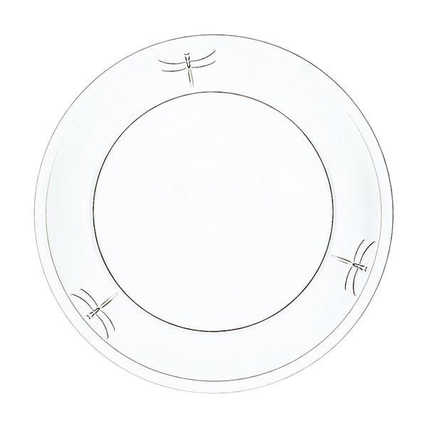 Talerz szklany La Rochère Libellules, ⌀ 25 cm