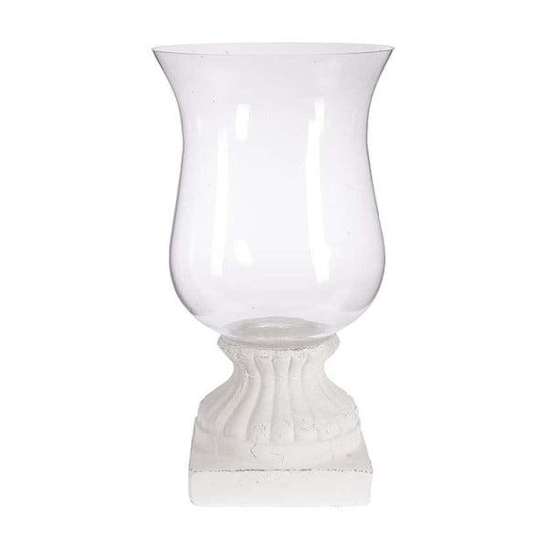 Svícen Ceramino, 28x51 cm, bílý