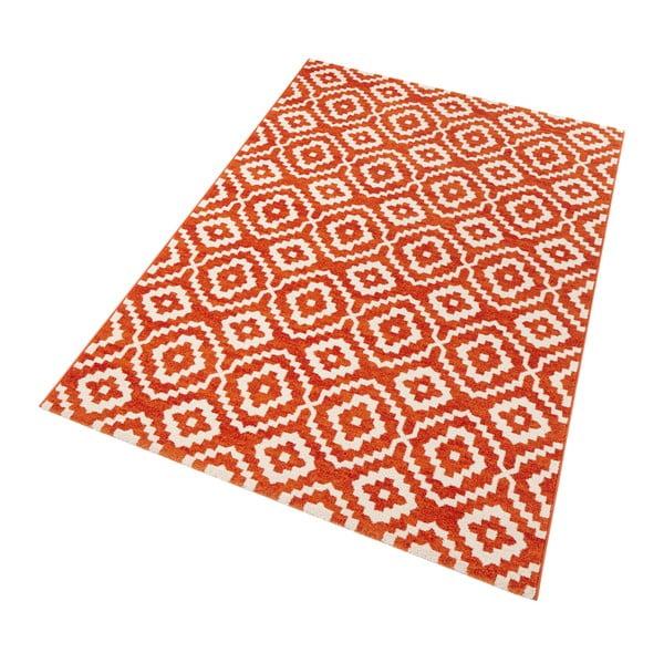Oranžový koberec Mint Rugs Diamond Ornamental, 133x195cm