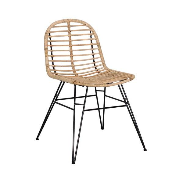 Ratanová jedálenská stolička WOOX LIVING Rattana