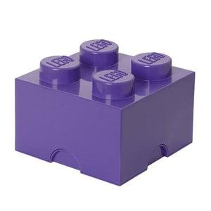Fialový úložný box čtverec LEGO® Friends
