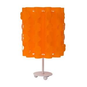 Oranžová stolní lampa Mauro Ferretti Cuori