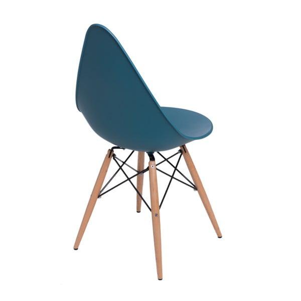 Sada 2 modrých židlí D2 Rush DWS