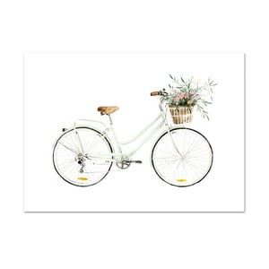 Plakát Leo La Douce Bicycle Love, 29,7 x 42 cm