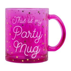 Růžový hrnek Tri-Coastal Design Party