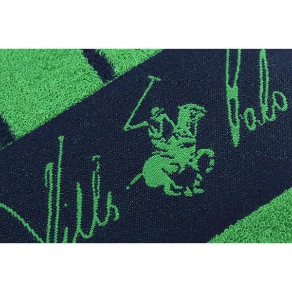 Bavlněná osuška BHPC 80x150 cm, zeleno-modrá