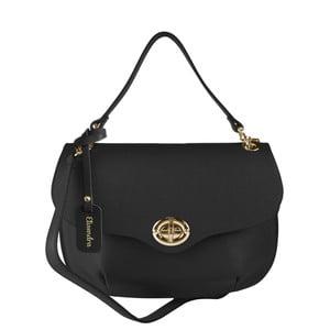Černá kožená kabelka Maison Bag Amber